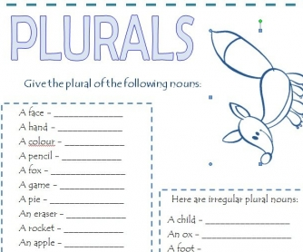 Plural of Nouns 2