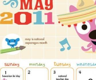 May 2011 Classroom Calendar