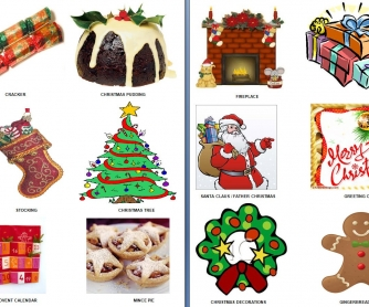 Christmas Guess The Word Game