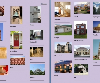 Picture Dictionary: Houses