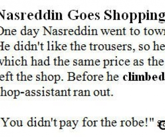 Nasreddin Stories