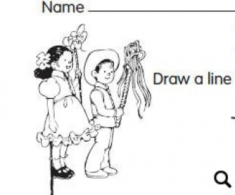 Cinco De Mayo Coloring Sheet