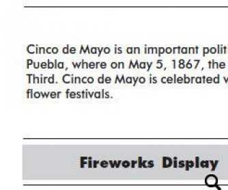 Cinco De Mayo Craft Ideas