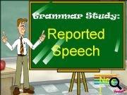 Reported Speech: PowerPoint Presentation