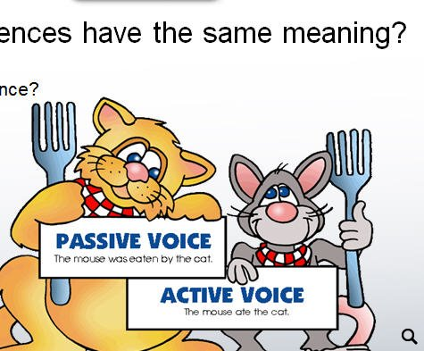 English grammar passive and active voice pdf