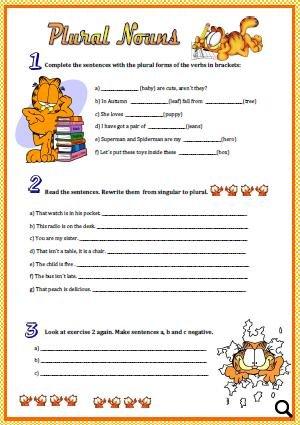 Plural homework