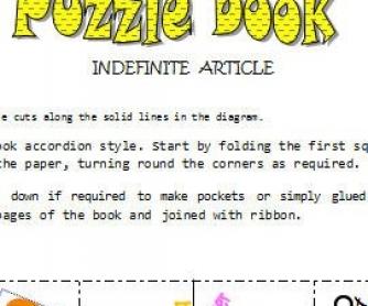 A-AN: Indefinite Article Mini-Book