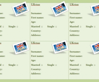 UK Visas Worksheet
