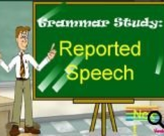 Reported Speech: PowerPoint Presentation