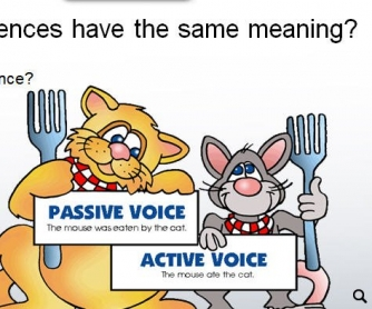 Active and Passive Voice Lesson Plan
