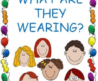 What Are They Wearing? [POWERPOINT]