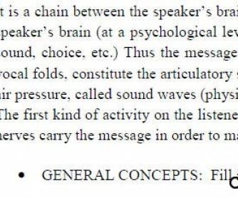 The Speech Mechanism - Basic Concepts