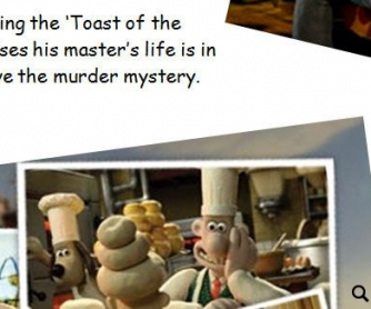 Wallace and Gromit: A Matter of Loaf and Death Worksheet
