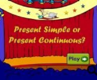 Present Simple vs Present Continuous PowerPoint