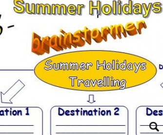 Summer Holiday Travelling Brainstormer