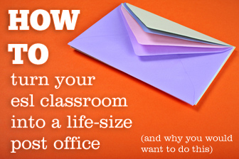 Mail Call! Turning Your Classroom into a Life-size Post Office