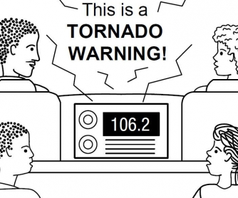 Weather Worksheet: Billy and Maria Learn About Tornado Safety - Part 2