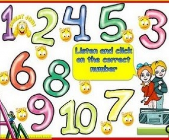 Cardinal Numbers PowerPoint