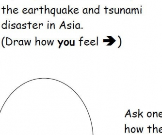 Natural Disasters Worksheet: Feelings About Disasters