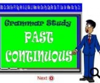 Past Continuous PowerPoint