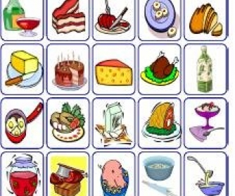 Food: Pair Work Matching Game