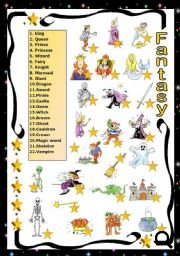 Fairy Tales Matching Activity