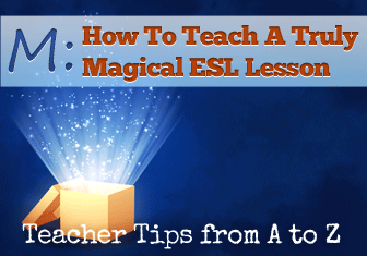 M: Magical Mystery Tour [Teacher Tips from A to Z]