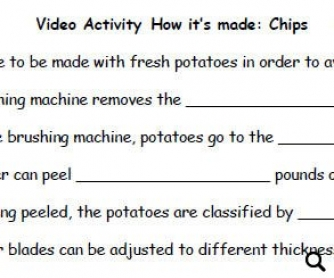 Video Activity: How It's Made... Chips from Discovery Channel