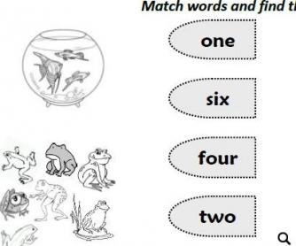 Numbers, Animals, Plural Nouns