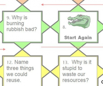Recycle Speaking Boardgame