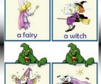 Fairy Tales Flashcards