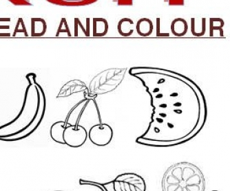 Fruit Worksheet #3