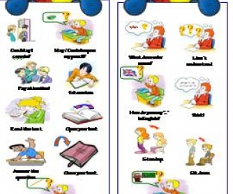 Back To School: Classroom Language Bookmarks