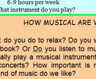 How Musical Are We?