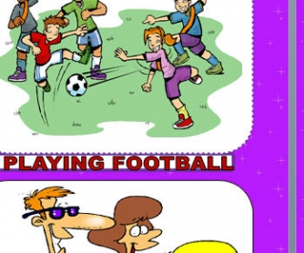 Summer Activities Flashcards