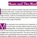 Music and The Mind: Reading Article