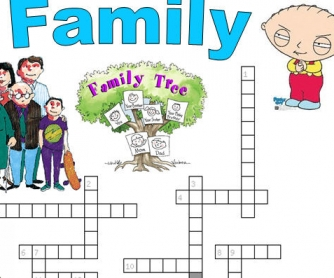 Easy Family Members Crossword