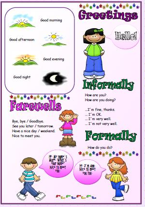Greetings Introducing People Worksheet