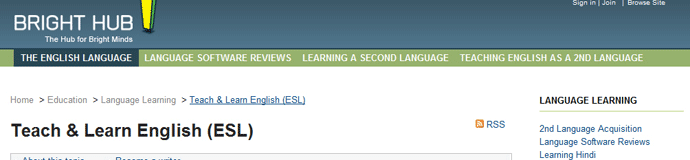 esl websites Choose a topic: grammar listening/speaking pronunciation vocabulary/spelling reading writing other webpages with good links/resources/lessons.