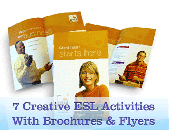 What You Can Do with Brochures and Flyers: 7 Creative ESL Activities