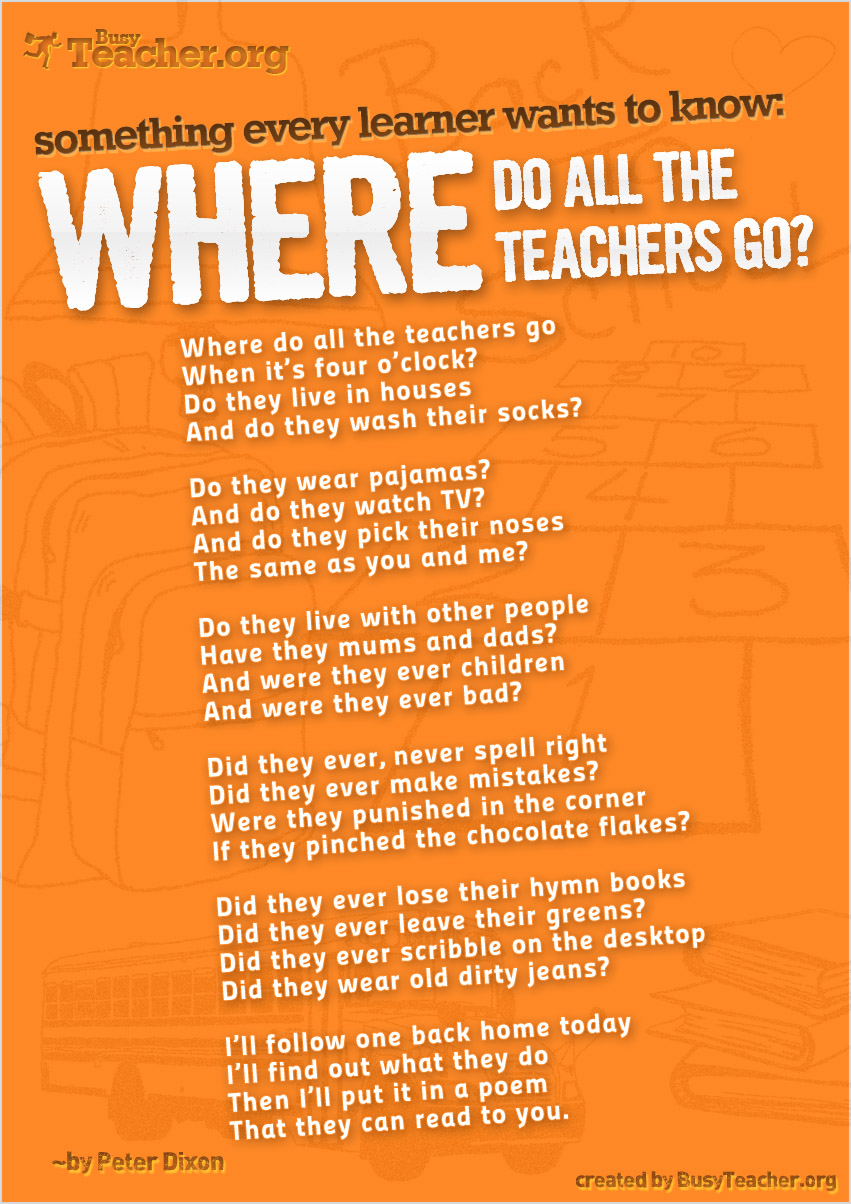 Where Do All The Teachers Go?