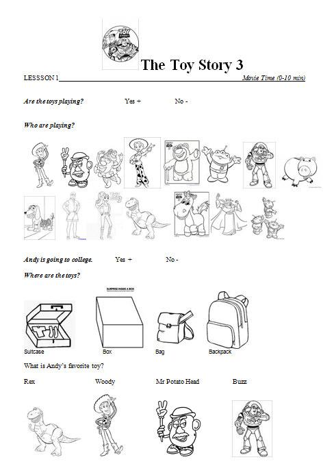 My Favourite Toy Worksheet ~ Alltoys for