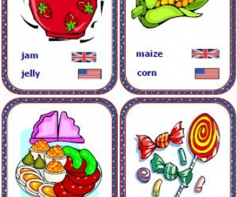 American English vs British English: Flashcards