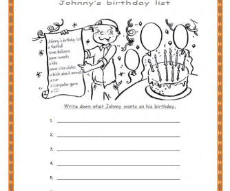 Johnny's Birthday