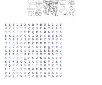 Clothes Puzzle