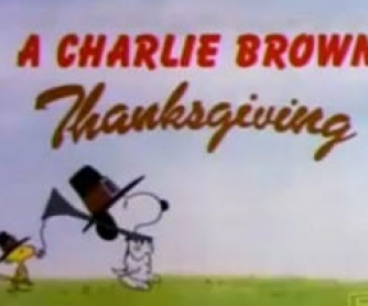 A Charlie Brown Thanksgiving - Cartoon Activity