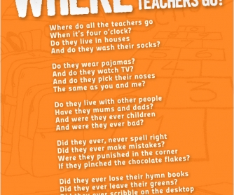POSTER: Every Learner Wants To Know: Where Do All The Teachers Go?