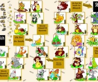 Animals Boardgame