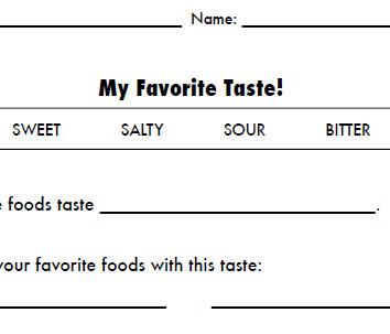 Bitter taste food