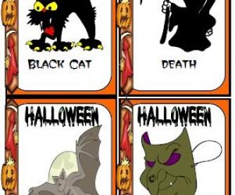 Halloween Flashcards